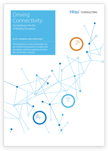 Driving Connectivity: Succeeding in the Era of Mobility Disruption White Paper Cover