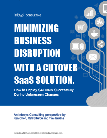 Minimizing Business Disruption with a Cutover SaaS Solution