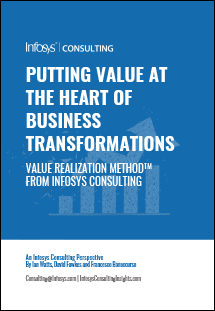 Putting Value at the Heart of Business Transformations - POV Cover